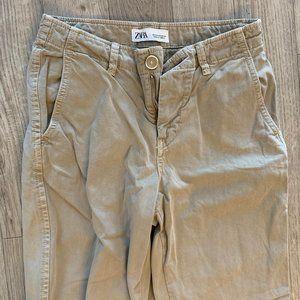 Zara khakis, never worn, US size 2